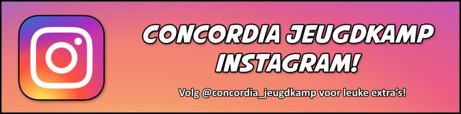 Instagram Concordia Jeugdkamp