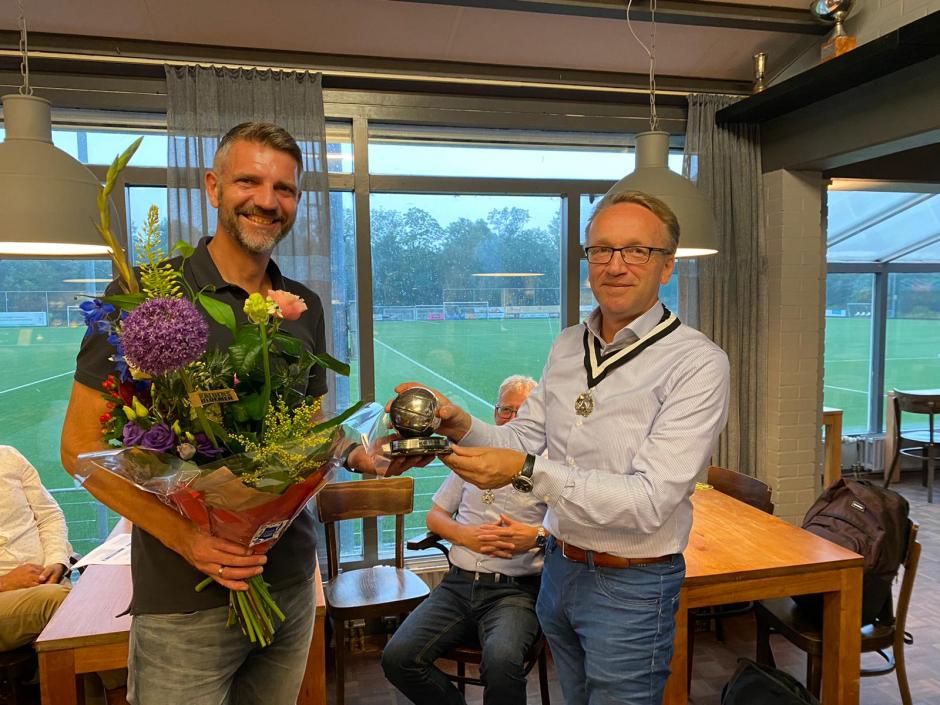 Erwin van der Groep, voetbal vrijwilliger van het jaar