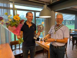 Roel Slootmans, golfer van het jaar