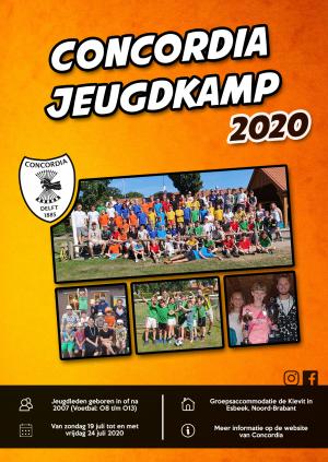 Poster Jeugdkamp 2020