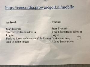 Installeren Proware App